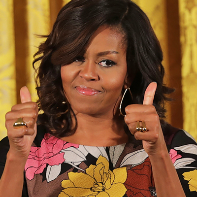 Michelle Obama Is Going Out in Style