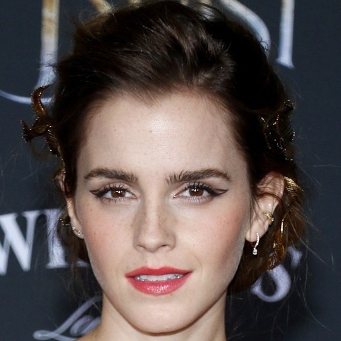 What a Thing of Beauty in Emma Watson's Hair!