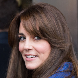 Kate Middleton's Bangs