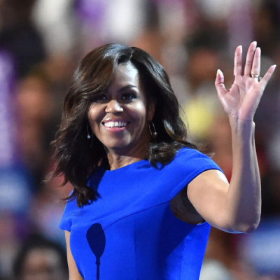 How Michelle Obama Got Her DNC Hairstyle