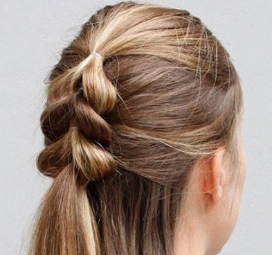 Try This Beautiful Pull Through Braid Today!
